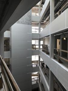 Looking out at the Atrium from the 3rd floor