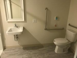 Barrier Free Washroom in Large Studio