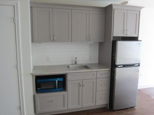 Kitchenette with appliances